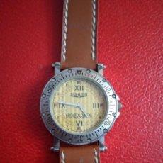 Relojes: RELOJ SUHLER QUARZO ACERO NUEVO.. Lote 227732540
