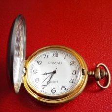 Relojes: RELOJ BOLSILLO CASSALI QUARZO ACERO NUEVO.. Lote 227736615