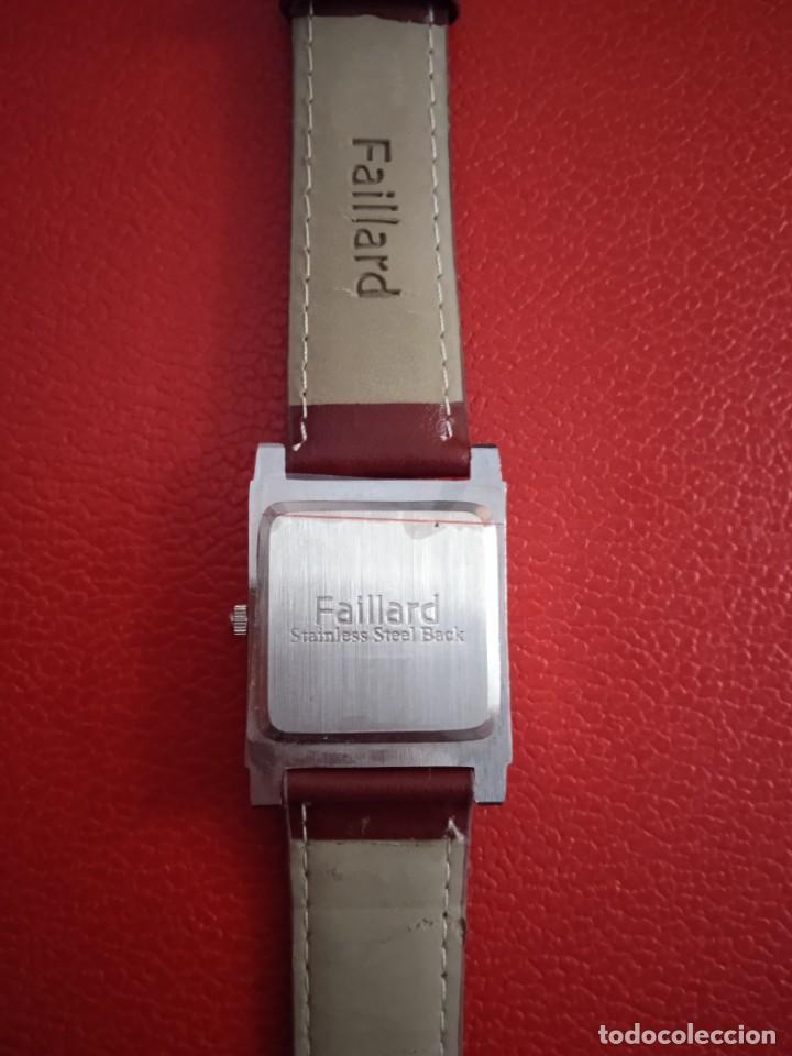 Relojes: RELOJ FAILLARD QUARZO NUEVO. - Foto 5 - 228037250