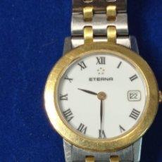 Relojes: RELOJ ETERNA DE MUJER DE ACERO Y ORO 18KT. Lote 228334525