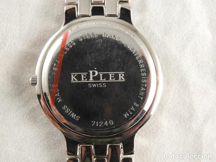 Relojes: RELOJ KEPLER ACERO SUMERGIBLE 3 ATM A ESTRENAR - Foto 4 - 228536565
