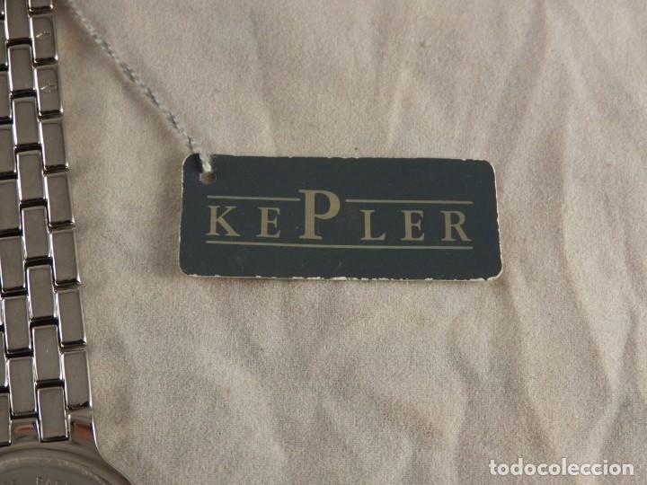 Relojes: RELOJ KEPLER ACERO SUMERGIBLE 3 ATM A ESTRENAR - Foto 5 - 228536565