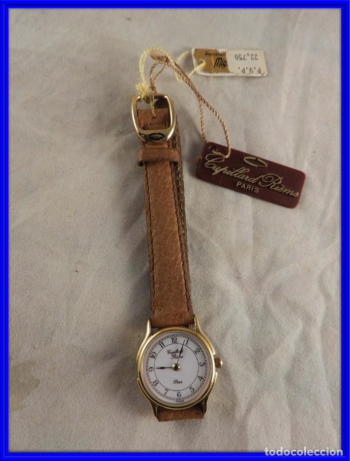 RELOJ CAPILLARD RIEMS PARIS A ESTRENAR (Relojes - Relojes Actuales - Otros)