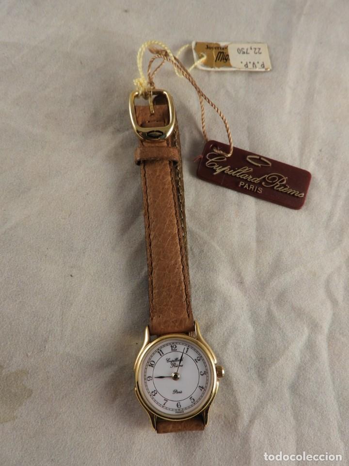 Relojes: RELOJ CAPILLARD RIEMS PARIS A ESTRENAR - Foto 6 - 228539250