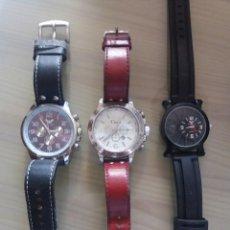 Relojes: RELOJES DE CUARZO CON ESFERAS DE GRAN TAMAÑO. Lote 228769315