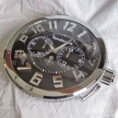 Relojes: ESPECTACULAR RELOJ DE PARED TENDENCE 2010, SIN ESTRENAR, EN CAJA, CRISTAL DE VIDRIO. Lote 228915712