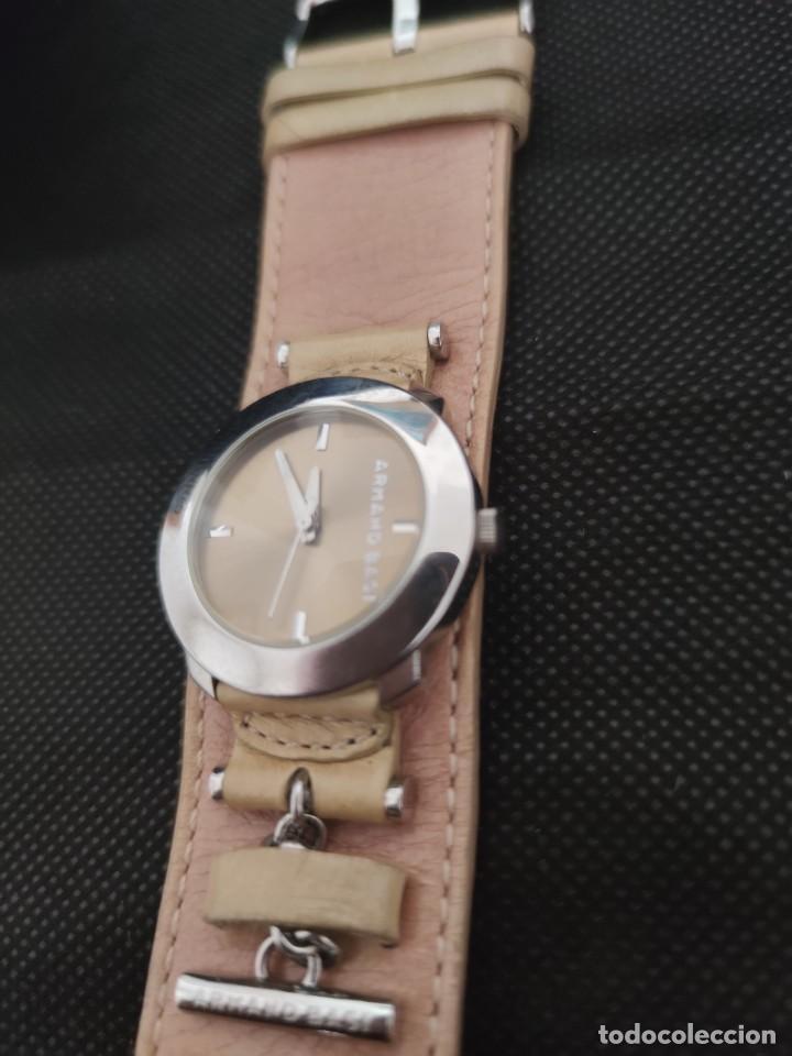 Relojes: PRECIOSO RELOJ ARMAND BASI, CORREA PIEL CORRESPONDIENTE AL MODELO,FUNCIONA PERFECTAMENTE - Foto 4 - 229154897