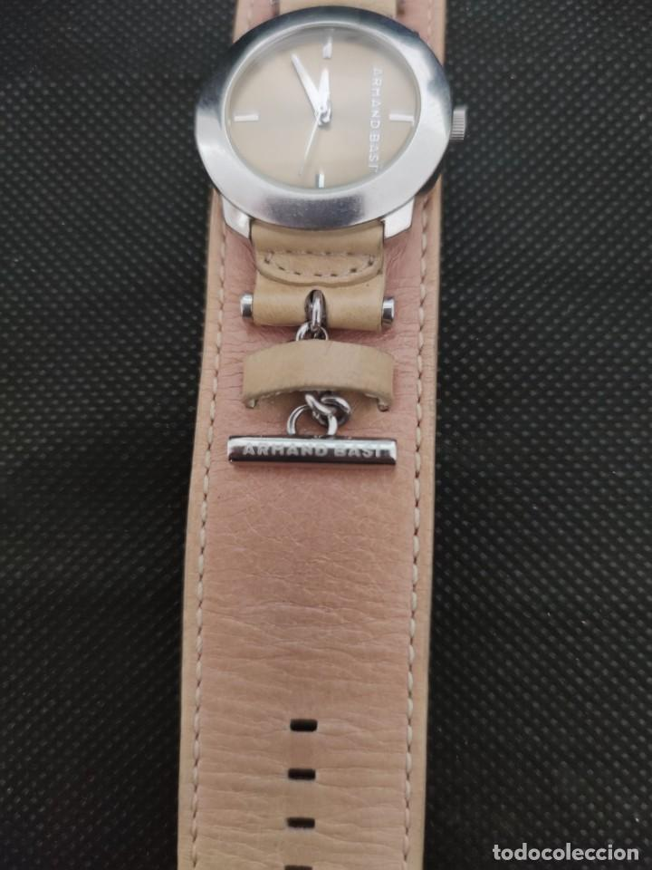 Relojes: PRECIOSO RELOJ ARMAND BASI, CORREA PIEL CORRESPONDIENTE AL MODELO,FUNCIONA PERFECTAMENTE - Foto 5 - 229154897
