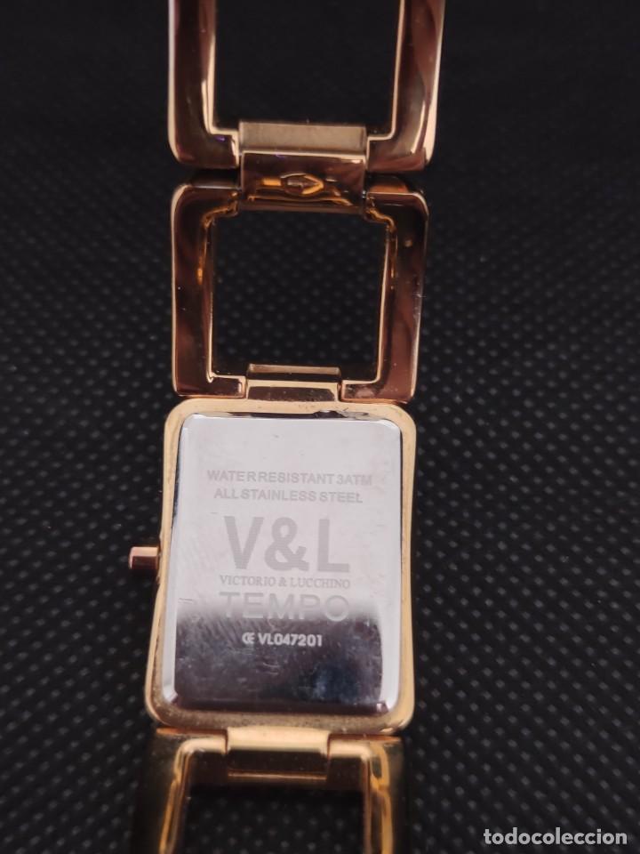 Relojes: PRECIOSO RELOJ SEÑORA , VICTORIO & LUCCHINO, TEMPO. - Foto 4 - 229172205