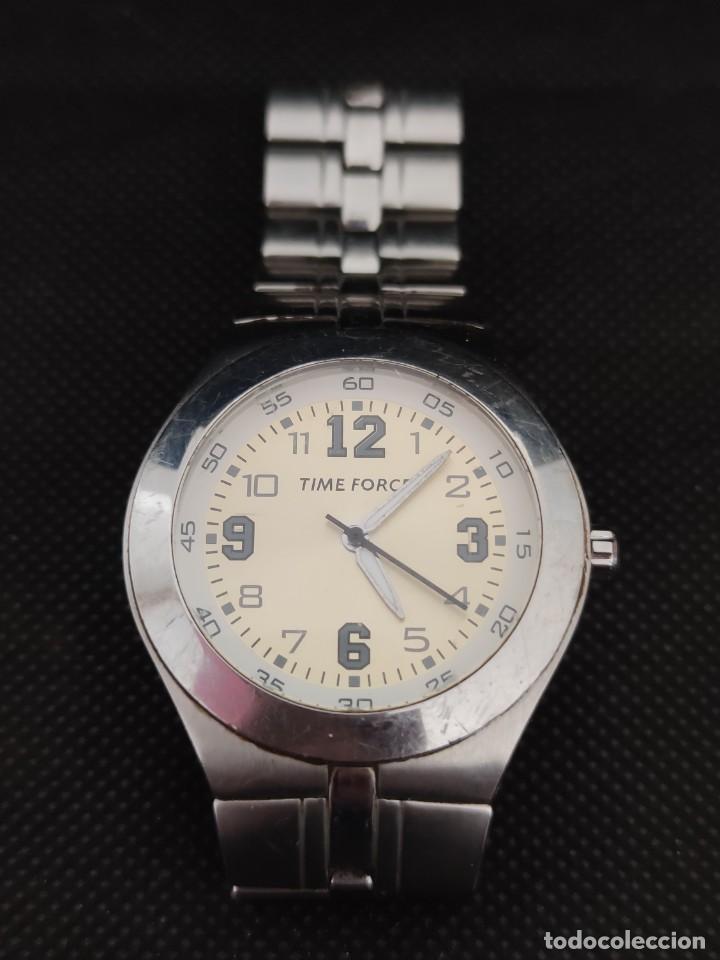Relojes: TIME FORCE, FUNCIONANDO PERFECTAMENTE, VER FOTOS. - Foto 2 - 229330095