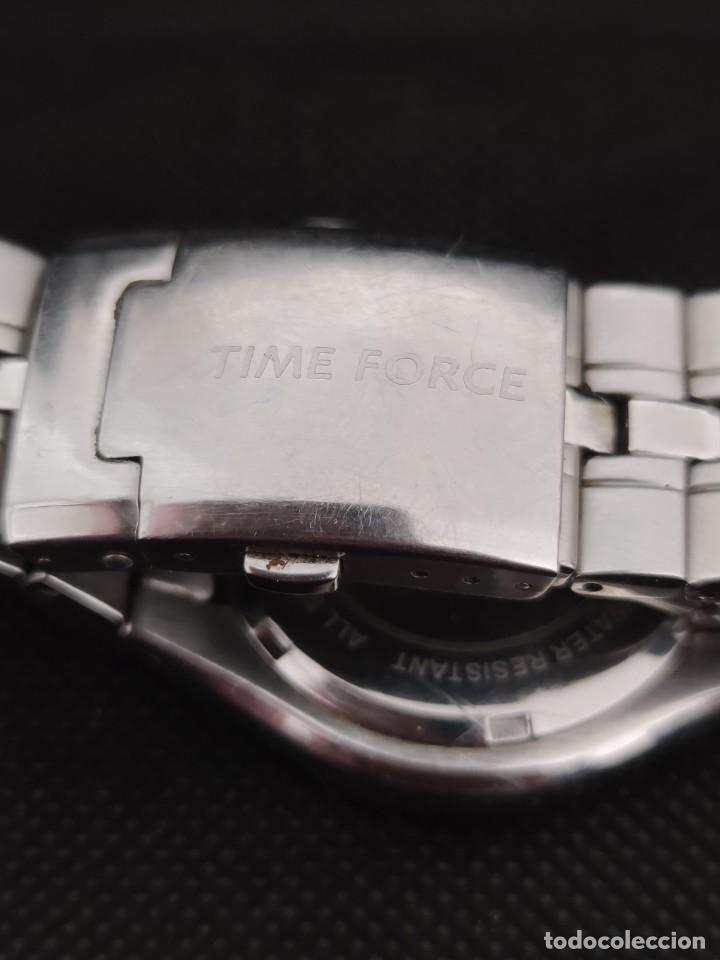 Relojes: TIME FORCE, FUNCIONANDO PERFECTAMENTE, VER FOTOS. - Foto 4 - 229330095