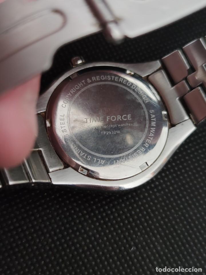 Relojes: TIME FORCE, FUNCIONANDO PERFECTAMENTE, VER FOTOS. - Foto 5 - 229330095