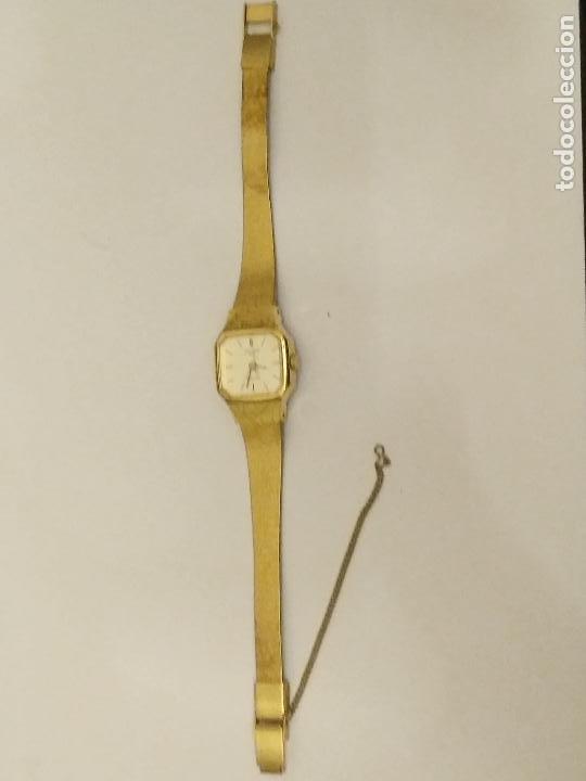 Relojes: RELOJ ORIENT DORADO NUEVO A ESTRENAR CON CADENITA EN CIERRE - Foto 3 - 229353665