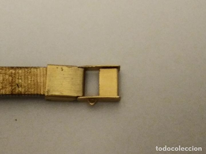 Relojes: RELOJ ORIENT DORADO NUEVO A ESTRENAR CON CADENITA EN CIERRE - Foto 4 - 229353665