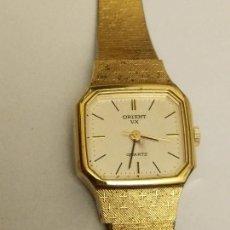 Relojes: RELOJ ORIENT DORADO NUEVO A ESTRENAR CON CADENITA EN CIERRE. Lote 229353665