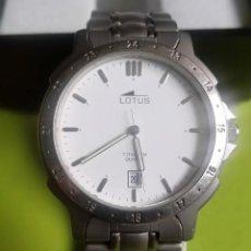 Relojes: RELOJ LOTUS TITANIO QUARTZ. Lote 231030970