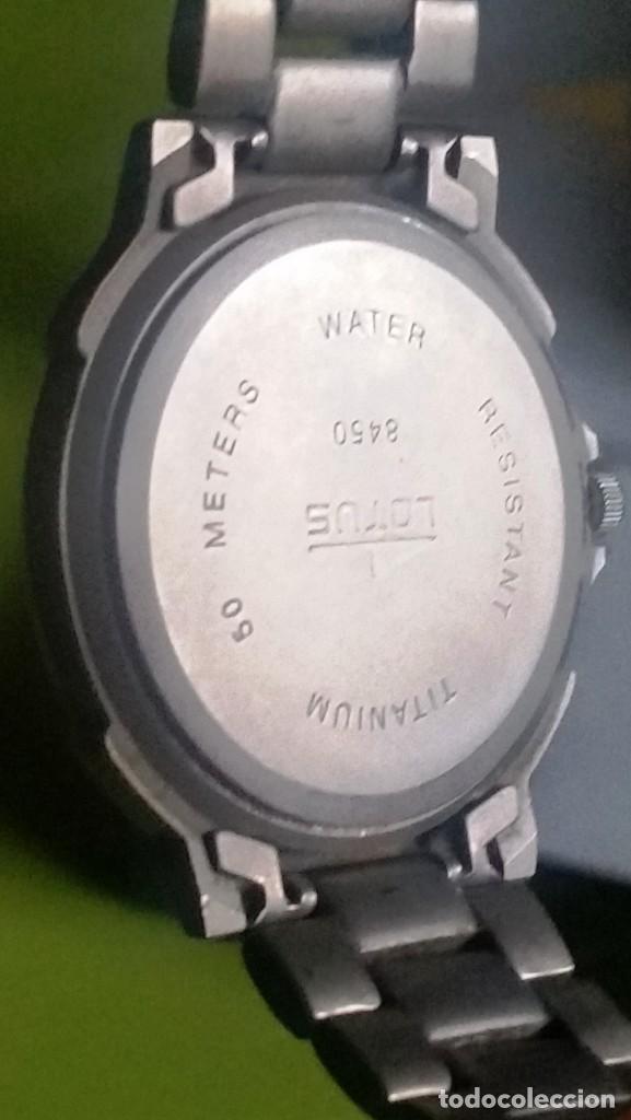 Relojes: RELOJ LOTUS TITANIO QUARTZ - Foto 3 - 231030970