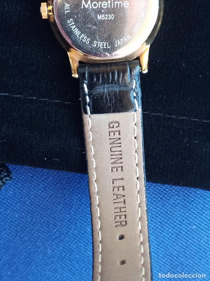Relojes: Reloj para mujer, Moretime, fabricado en Suiza, 1980, chapado en oro - Foto 2 - 231608830