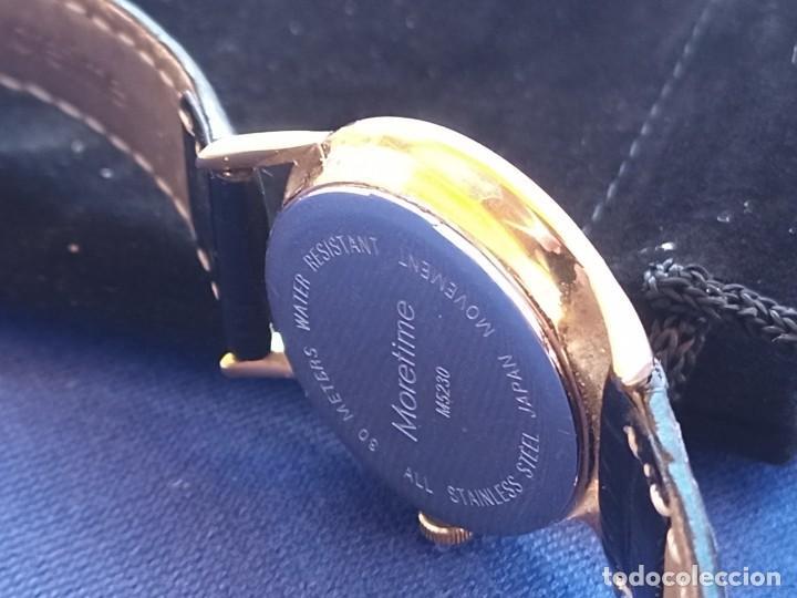 Relojes: Reloj para mujer, Moretime, fabricado en Suiza, 1980, chapado en oro - Foto 3 - 231608830