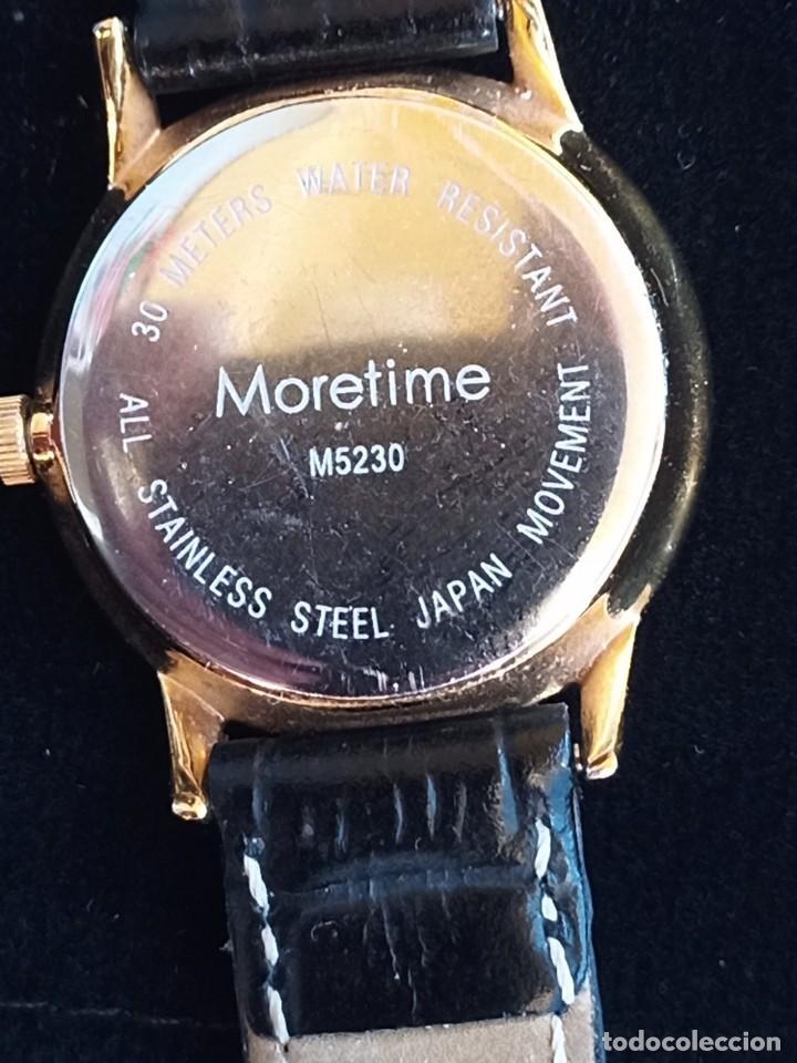 Relojes: Reloj para mujer, Moretime, fabricado en Suiza, 1980, chapado en oro - Foto 4 - 231608830