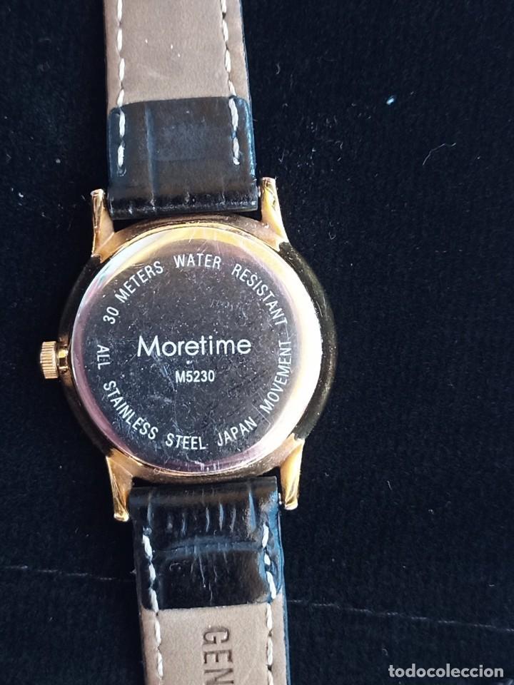 Relojes: Reloj para mujer, Moretime, fabricado en Suiza, 1980, chapado en oro - Foto 5 - 231608830
