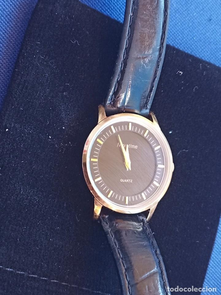 Relojes: Reloj para mujer, Moretime, fabricado en Suiza, 1980, chapado en oro - Foto 6 - 231608830