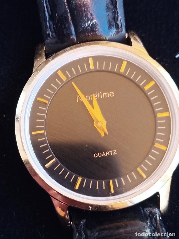Relojes: Reloj para mujer, Moretime, fabricado en Suiza, 1980, chapado en oro - Foto 7 - 231608830