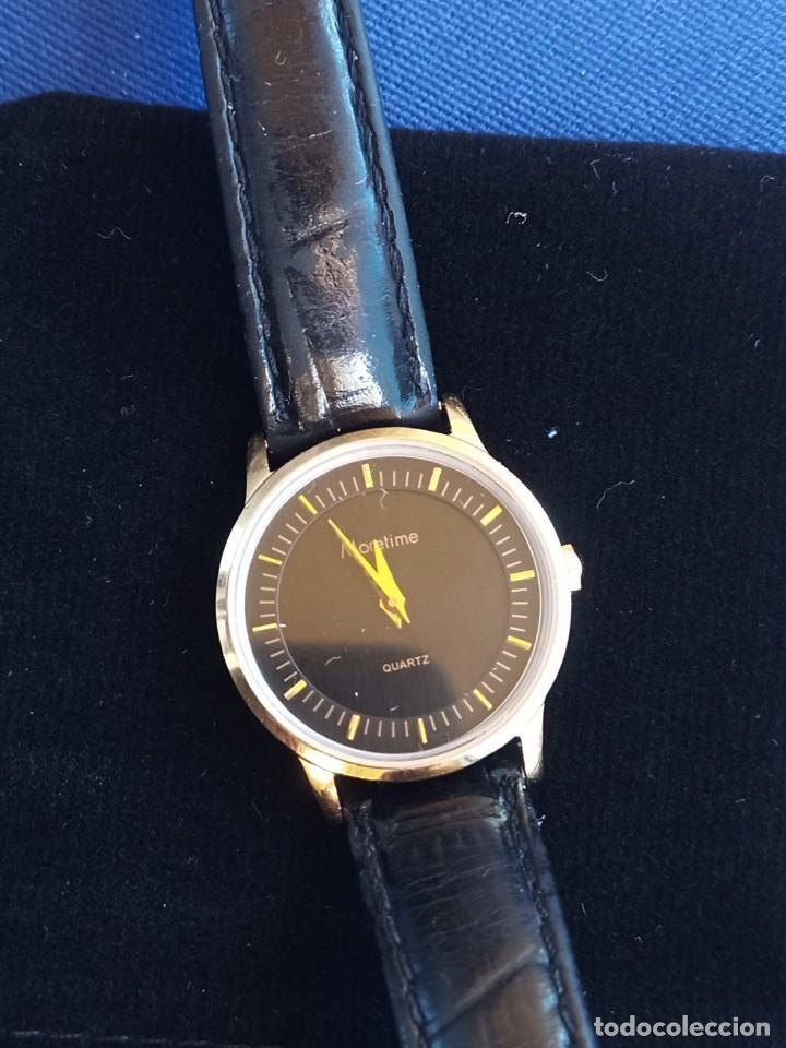 Relojes: Reloj para mujer, Moretime, fabricado en Suiza, 1980, chapado en oro - Foto 8 - 231608830
