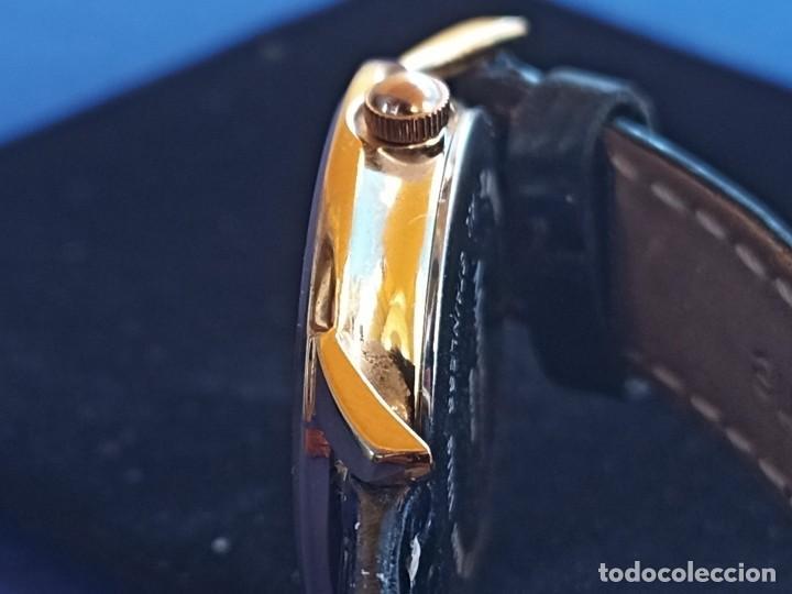 Relojes: Reloj para mujer, Moretime, fabricado en Suiza, 1980, chapado en oro - Foto 10 - 231608830