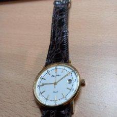 Relojes: BONITO RELOJ DE PULSERA CABALLERO CHAPADO ORO THERMIDOR CUARZO. Lote 232236910