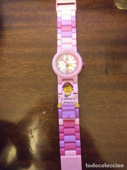 Relojes: Reloj niña Lego funcionando - Foto 3 - 232387670