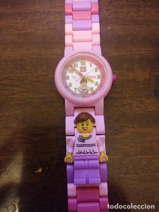 Relojes: Reloj niña Lego funcionando - Foto 4 - 232387670