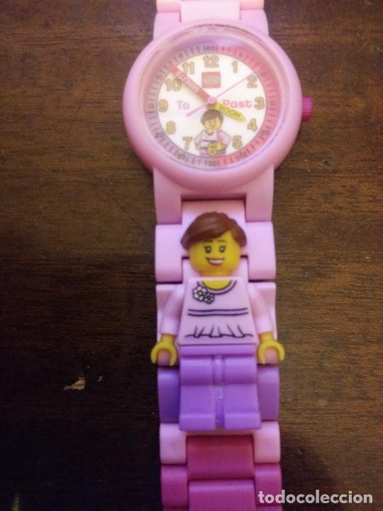 RELOJ NIÑA LEGO FUNCIONANDO (Relojes - Relojes Actuales - Otros)