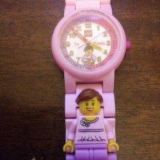 Relojes: RELOJ NIÑA LEGO FUNCIONANDO. Lote 232387670