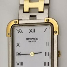 Relojes: HERMÈS ACERO PLAQUÉ ORO-COMO NUEVO.. Lote 232395355
