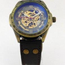 Relojes: RELOJ SQUELETON AUTOMATICO VINTAGE. Lote 234712735