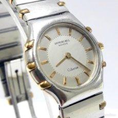 Relojes: RELOJ DE SEÑORA RAYMOND WEIL MODELO COLISEUM DE ACERO Y ORO. Lote 235132555