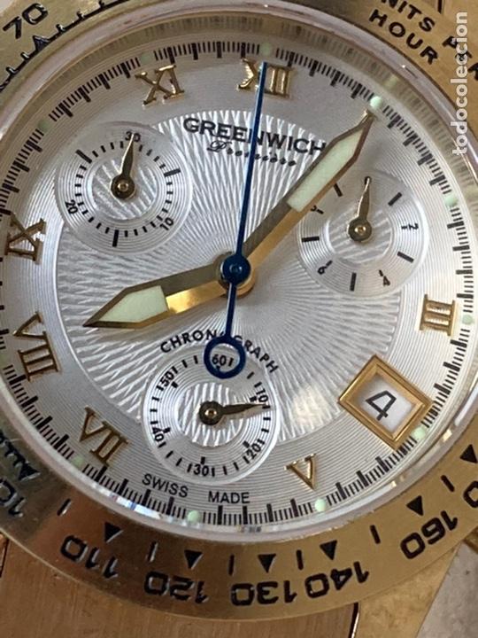 Relojes: Reloj Greenwich Chronograph de mujer como nuevo a estrenar - Foto 2 - 236498270