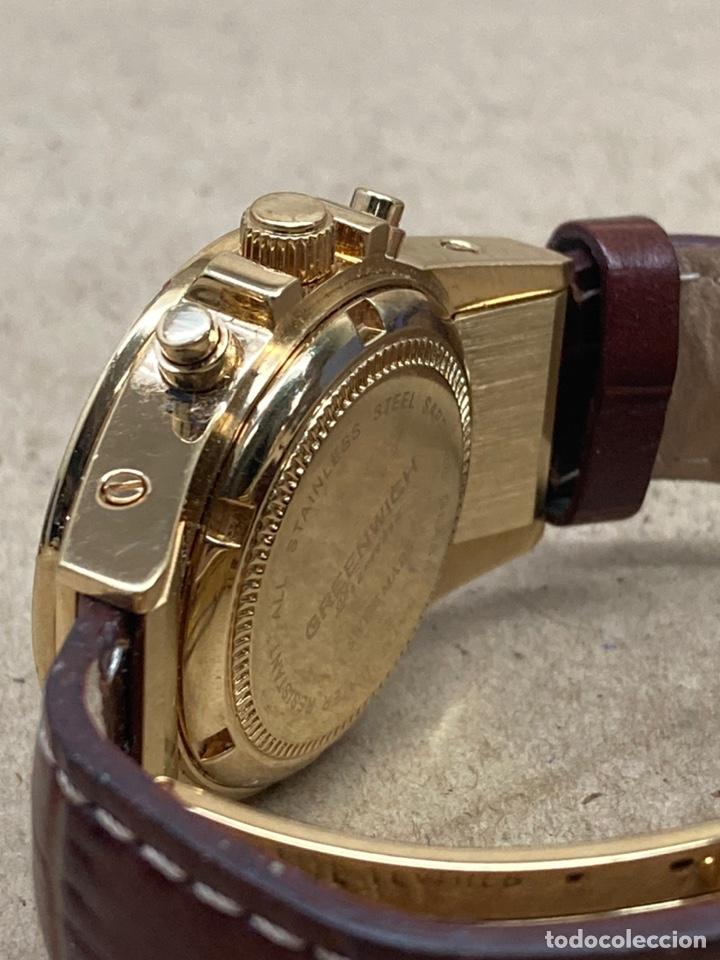 Relojes: Reloj Greenwich Chronograph de mujer como nuevo a estrenar - Foto 4 - 236498270