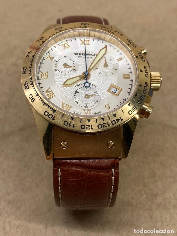 Relojes: Reloj Greenwich Chronograph de mujer como nuevo a estrenar - Foto 5 - 236498270