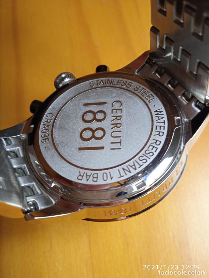 Relojes: RELOJ CERRUTI 1881 CRONOGRAFO NUEVO. - Foto 6 - 236739610
