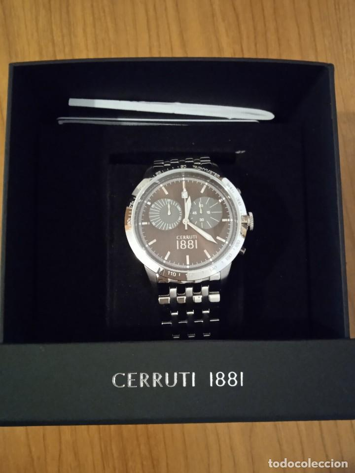 Relojes: RELOJ CERRUTI 1881 CRONOGRAFO NUEVO. - Foto 9 - 236739610
