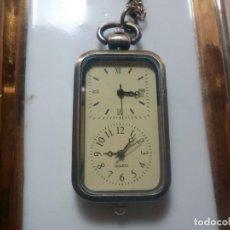 Relojes: RELOJ COLGANTE DUAL TIME. Lote 237552715