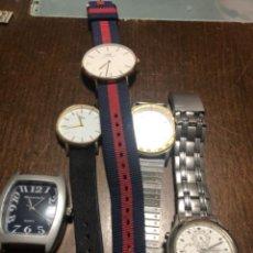 Relógios: LOTE 6 RELOJES CABALLERO BONITOS Y ELEGANTES. VER FOTOS. Lote 238152180