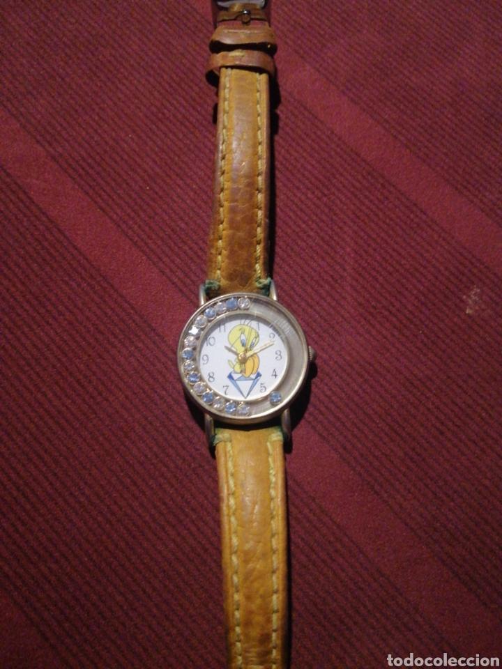 PIOLIN RELOJ NIÑA ORIGINAL WARNER BROS. AÑOS 90 (Relojes - Relojes Actuales - Otros)
