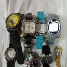 Relojes: LOTE 9 RELOJES RELOJES. Lote 287899973