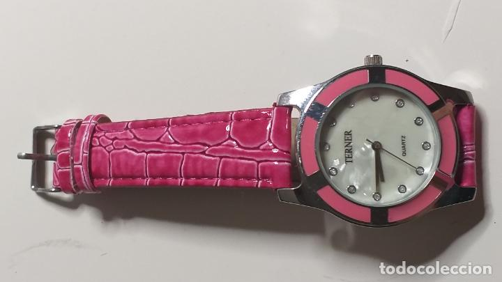 Relojes: Reloj de MUJER. CORREA ROSA. MARCA BIJOUX TERNER - Foto 6 - 239652535