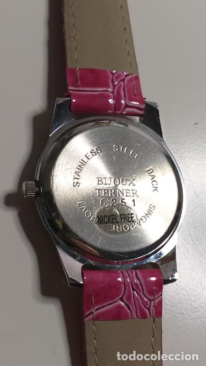 Relojes: Reloj de MUJER. CORREA ROSA. MARCA BIJOUX TERNER - Foto 9 - 239652535