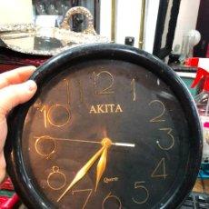Relojes: RELOJ DE PARED AKITA - MEDIDA 26 CM. Lote 240515695