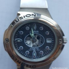 Relógios: LORUS FUSION KINETIC ACERO 40MM MAQUINA VISTA. Lote 240605510